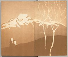 """1928, endpapers, """"Children's Physiology and Hygiene""""  - Children's Textbook Covers in 1920s Japan - via 50 Watts"""