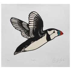 Puffin Print @ Howkapow #newautumncollection #howkapow
