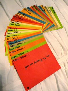 """Only a Mama knows: Pinterest Win - """"Open When"""" Letters"""