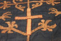 RICHARD, EARL OF CORNWALL | 'Tablet woven band on the coronation robe of Richard of Cornwall'     ✫ღ⊰n
