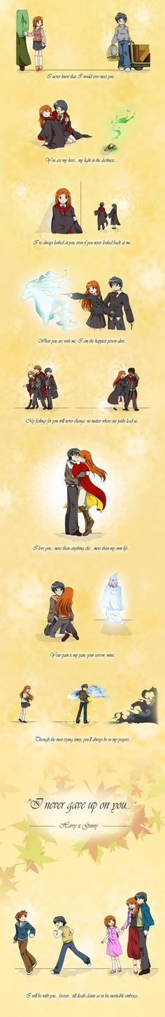 Harry x Ginny - Our Story by geoffHeaven.deviantart.com on @DeviantArt