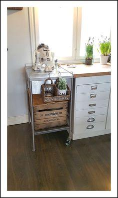 vintage apple crate Apple Crates, Kitchen Cart, Vintage, Home Decor, Decoration Home, Room Decor, Vintage Comics, Home Interior Design, Home Decoration