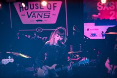 House of Vans at Mohawk: The Big Moon  Last night UK indie-rockers, The Big Moon set the Mohawk stage ablaze with some of their biggest hits like Sucker, Cupid, and more.
