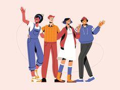 Bike Illustration, Business Illustration, Character Illustration, Digital Illustration, Graphic Illustration, Character Design Animation, Character Design References, 2d Character, Affinity Designer