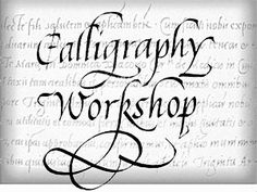 Calligraphy workshop for teens!  With the ability to read and write cursive disappearing from public schools libraries can do workshops so that the skill survives. (Also handy for being able to read the Declaration of Independence and the Constitution)