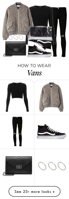 """Sin título #473"" by ari-arrua on Polyvore featuring Vans, J Brand, Topshop, Acne Studios, Mulberry and ASOS"