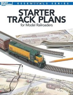 Starter Track Plans for Model Railroaders (Model Railroader Books Essentials Series)... the track plans in Starter Track Plans for Model Railroaders have one thing in common they re eminently buildable. Perfect for small spaces and beginner layouts, this mix of HO and N scale track plans emphasizes simplicity, flexibility and interesting operation.