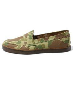 BEAMS PLUS / Penny deck shoes.