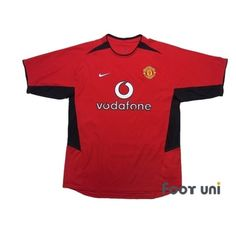 Manchester United 2002-2004 Home Shirt - Online Store From Footuni Japan #manchesterunited #manchesterunited2002 #manchesterunited2004 #manchesterunitedshirt #manchesterunitedjersey #nike #vodafone - Football Shirts,Soccer Jerseys,Vintage Classic Retro - Online Store From Footuni Japan #footuni #football #soccer #footballshirt #footballjersey #soccershirt #soccerjersey #jersey #vintage #vintageclothing #vintagejersey #vintagefootballshirt #classic #retro #old #fussball #collection #collector… Manchester United Premier League, Manchester United Shirt, Vintage Football Shirts, Vintage Jerseys, Soccer Shirts, Football Jerseys, Vintage Outfits, The Unit, Japan