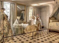 Pièce des bains de Marie Antoinette -exhibit