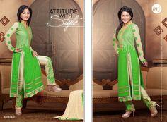 #HeenaKhan Exclusive Designer #SalwarKameez   #craftshopsindia