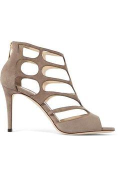 d40d313a81b JIMMY CHOO Ren cutout suede sandals.  jimmychoo  shoes  sandals Casual Teen  Fashion