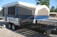 bathroom for popup camper | Flagstaff BR28TSC Pop-up Camper RV in Louisiana [Stock No. N161126]
