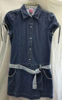 Girls Size 12 J. Khaki Dress Denim drop waist #JKhaki #Everyday