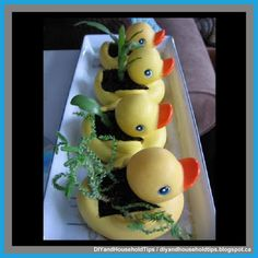 DIY And Household Tips: Turn Dollar Store Rubber Duckies Into Bathroom Pla...