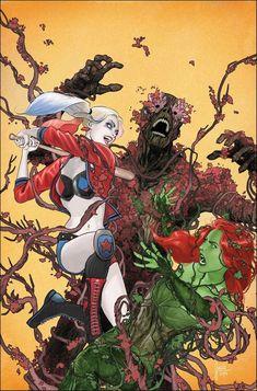 Harley Quinn, Joker And Harley, Marvel, Poison Ivy 2, Arlequina Margot Robbie, John Romita Jr, Midtown Comics, Comic Book Pages, Comic Books