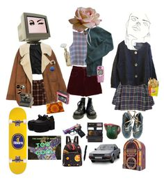 """""""Dances over your good side"""" by short-skirt-long-jacket ❤ liked on Polyvore featuring Wunderkind, Vans, American Apparel, Impossible, Nokia, Handle, Miu Miu, Cultural Intrigue, Retrò and Polaroid"""