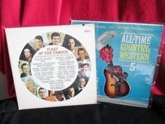 """Two Vintage 60's LPs """"Country Western """" by trackerjax on Etsy"""