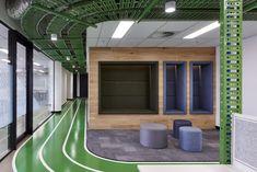 Commercial IT Department Workplace - Studio Nine Architects Workplace, Architects, Commercial, Park, Studio, Building Homes, Parks, Studios, Architecture