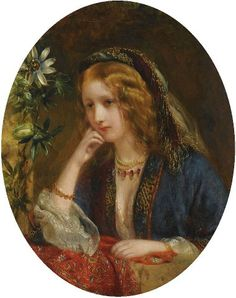 Thomas Francis Dicksee (British painter) 1819 – 1895, Juliet