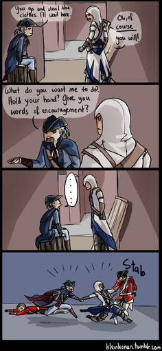 Hahahaha Assassin's Creed III