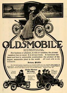 1904 Ad Olds Motor Works Oldsmobile Automobile Vintage - ORIGINAL TOM2