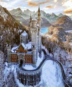 Neuschwanstein Castle This was an inspiration for Disneys Sleeping Beauty castle and its sometimes called castle. If you are planning to go to in Central The post Neuschwanstein Castle appeared first on Deneme. Beautiful Castles, Beautiful World, Beautiful Sky, Beautiful Buildings, Beautiful Landscapes, Places To Travel, Places To See, Wonderful Places, Beautiful Places