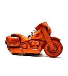 Chopper Bike Leather Goods/Bag Charm