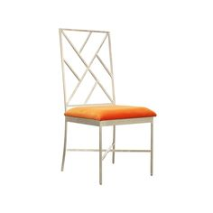 Information: Worlds Away Ashton Dining Chair  Features:   Worlds Away presents the Ashton Dining Chair. Highlights include fretwork back gold or silver leaf cha
