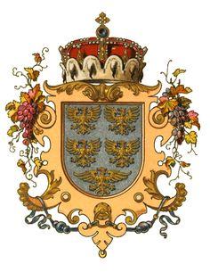 Wappen der Kronländer - Austria-Forum : Wissenssammlung Symbole Erzherzogtum unter der Enns