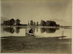 Junction of Sindh and Jhelum River - Shadipur Punjab c1880's