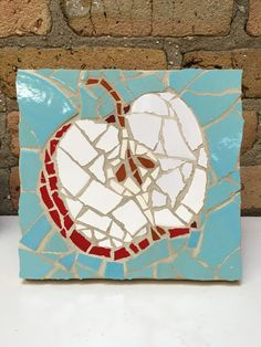 Apple Mosaic, Mercury Mosaics Workshop
