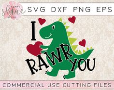 I Rawr You svg dxf png eps Cutting Files and Designs for Silhouette Cameo and Cricut Explore Air Cutting Machines. Commercial Use License Included! Girl Valentine SVG, Boy Valentine SVG, Cupid Svg, Arrow SVG, Be Mine SVG, Cute SVG, Funny SVG, DIY, SVG Quote, SVG Sayings, Girl Designs, Pretty SVG, Mom Life, Boy Mom, Girl Mom, Mama Bear, SVG Design, SVG File, Mug Design, Shirt Design, Cutting Designs, Cutting File, Cricut Air, Small Businesses