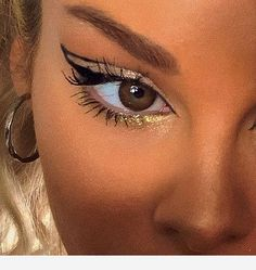 Eye makeup is here with style