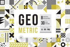 (Super Fun) Geometric Patterns | Pre-Designed Illustrator Graphics ~ Creative Market Graphic Patterns, Geometric Patterns, Geometric Shapes, Graphic Design, Tile Patterns, Geometric Designs, Design Art, Print Design, Pattern Drawing
