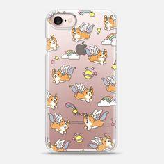 Casetify iPhone 7 Snap Case - Unicorn Corgi by Mint Corner