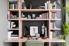 Workspace - Sophie Ashby, Modern Flat in Decorating Ideas for Small Flats on HOUSE. How to decorate tiny flats and studio apartments - ideas for layout and furniture