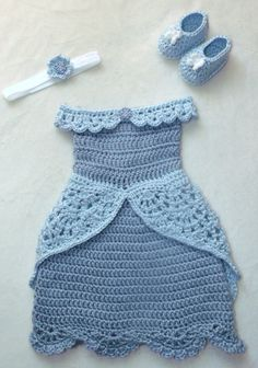 crochet Disney's Cinderella inspired princess by momscrochetcorner                                                                                                                                                                                 More