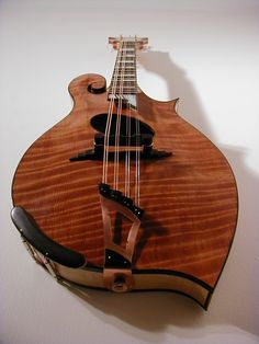 Jacobson mandolin #2. 1999, maybe.