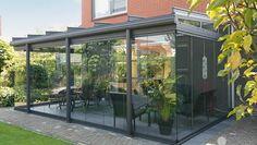 Terraza vidriada