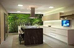 19 Vibrant Small Indoor Gardens You Can Get Inspired From - Home Interior Designs Outdoor Living Rooms, Living Spaces, Custom Home Designs, Custom Homes, Living Green Wall, Villa, Vertical Garden Diy, Modern Interior Design, Home Kitchens