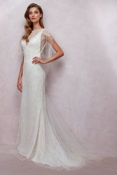Bride&co has just launched their beautiful 2018 collection, filled with gorgeous dresses by the Bride&co label, as well as designers Oleg Cassini and Viola Chan, occasionwear and bridesmaid dresses, and Eurosuit suits. White Wedding Gowns, White Gowns, Wedding Dresses, Beautiful Bridesmaid Dresses, Gorgeous Wedding Dress, Affordable Bridal, Wedding Attire, The Dress, Bridal Style