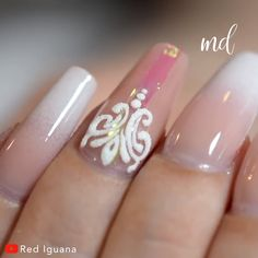 Get your hands on these stunning 3D gel and ombre nail designs!