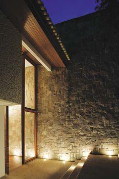 iluminação externa em parede - Pesquisa Google