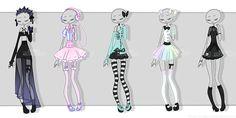 Gachapon outfits 5 by kawaii-antagonist.deviantart.com on @DeviantArt