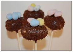 Easter Nest Cake Pops