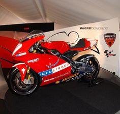 Ducati MotoGP Prototype in 2002 at Mugello