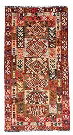 kilim - Kilim Afegão 197x103 cm.