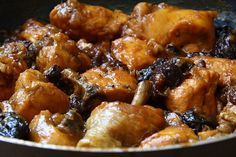 Pollo marroquí Meat Recipes, Asian Recipes, Gourmet Recipes, Healthy Recipes, Ethnic Recipes, Chichen Recipe, Pollo Chicken, Cuban Dishes, Minis