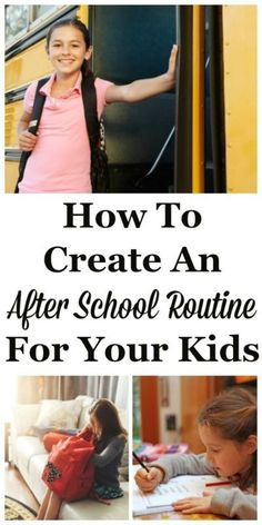 When kids come home after school it can feel like chaos, or you can get a lot accomplished in that time period between the end of school and before the evening begins, without feeling stress. The difference between chaos and calm can be your after school routine. Here is how to create one for yourself and the kids, and the four parts of the routine you need to make sure you include. #ad